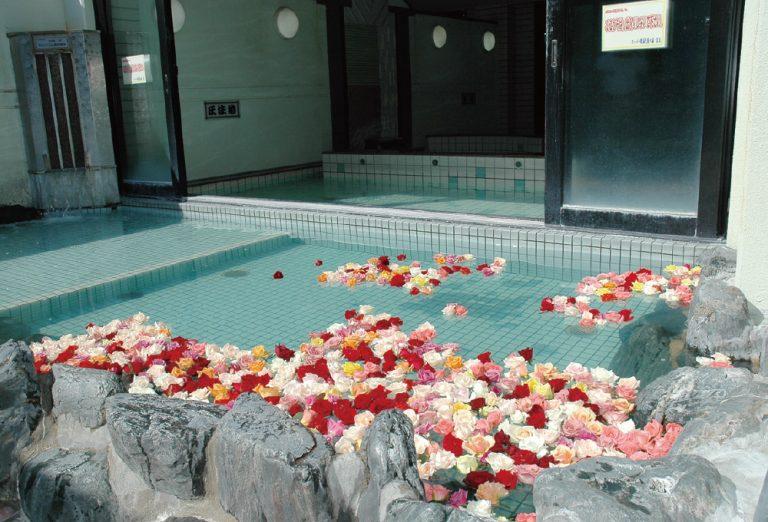 芭蕉の湯露天風呂