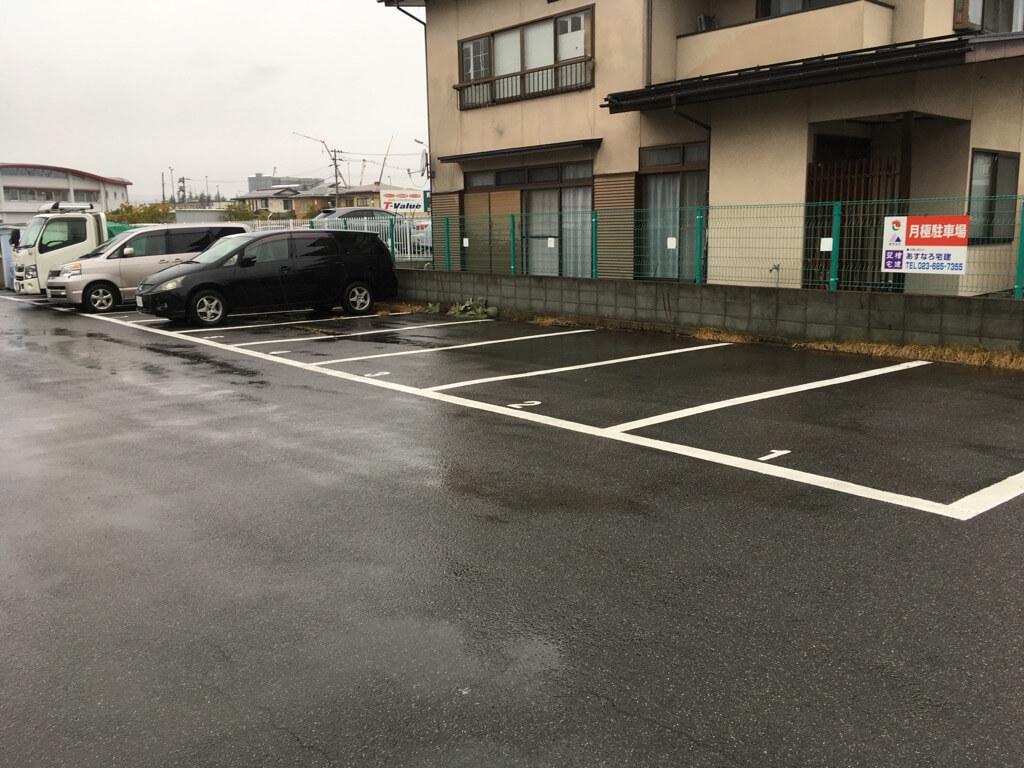 ラーメン金子駐車場