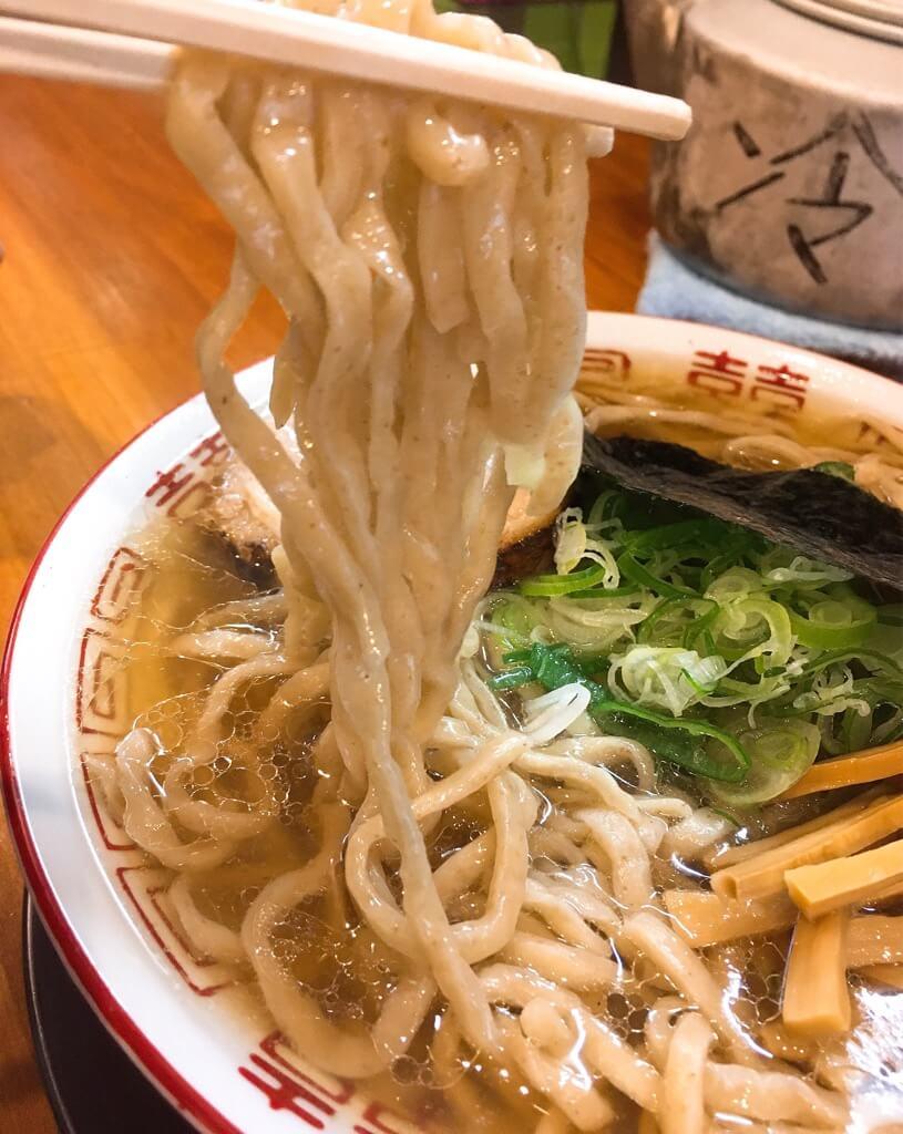 ラーメン金子中華そばの麺