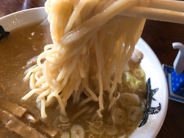 味噌そばの麺