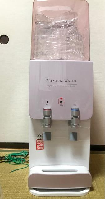 プレミアムウォーターのスリムサーバーはデザインが可愛い