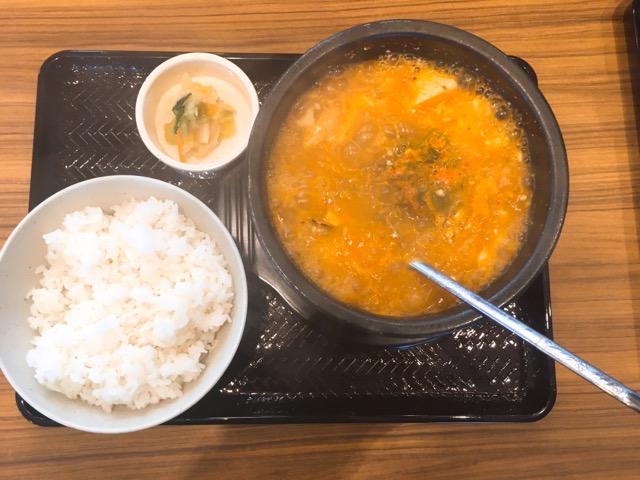韓丼スン豆腐