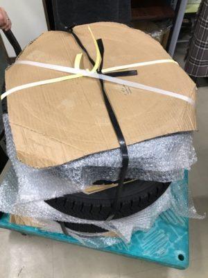 軽自動車タイヤ4本梱包