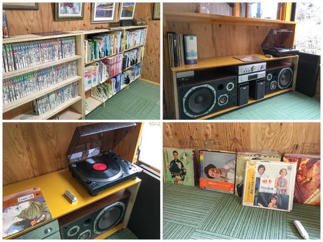 図鑑や小説やレコード