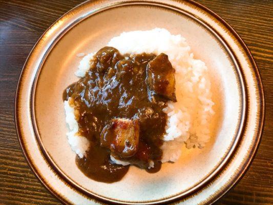 ポークカレーの豚肉