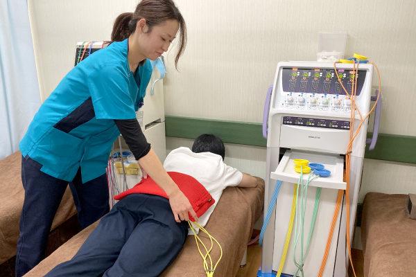 整形外科の電気治療なら15分で360円