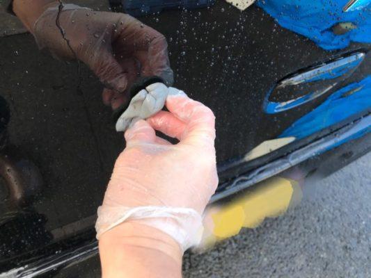 ガラスコーティングは下地処理が1番大事!鉄粉除去して粘土で汚れを取ろう!