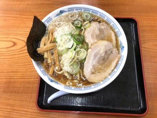 煮干し中華 こってり太麺