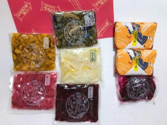 【一番人気!】 ニシダやの定番 お漬物セットF【箱入り】¥3,240円