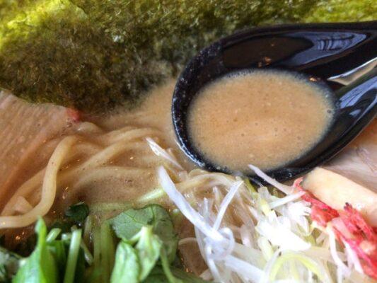 海老そばこってりスープ